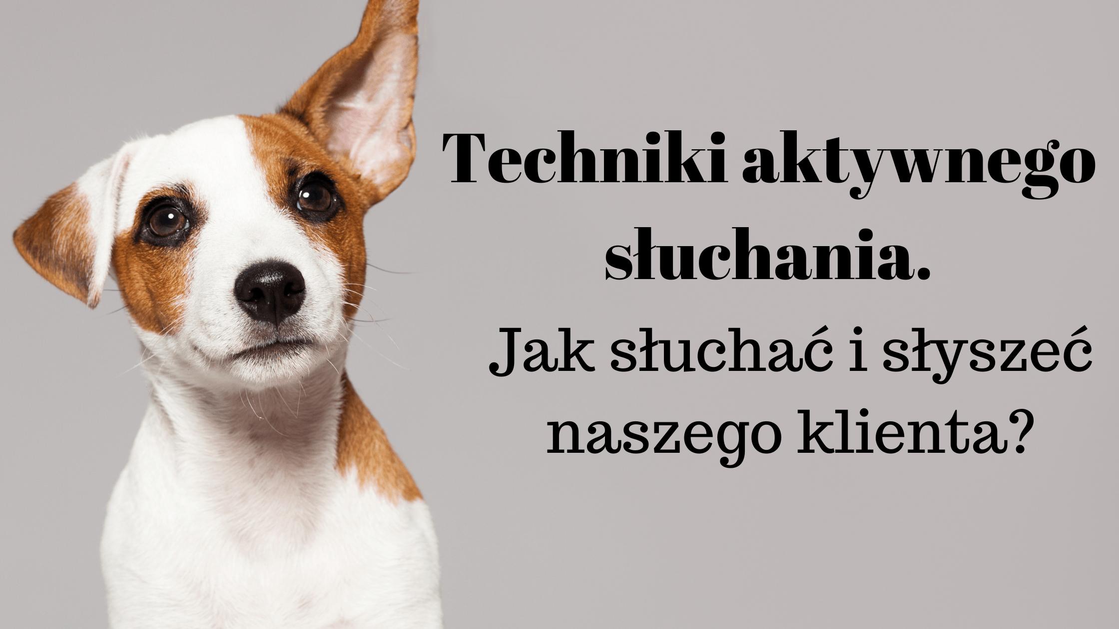 Techniki aktywnego słuchania- jak słuchać i słyszeć naszego klienta?
