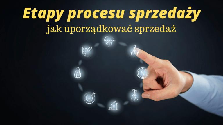 Etapy procesu sprzedaży- jak uporządkować sprzedaż